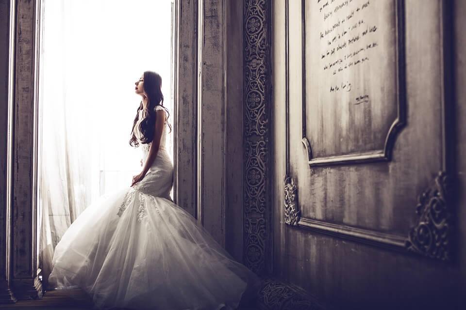 uno degli abiti da sposa 2018