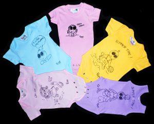 I body della collezione di abbigliamento per bambini Pupy