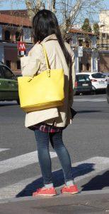 Street fashion e borse