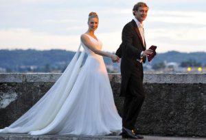 abiti da sposo e da sposa eleganti