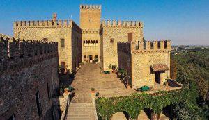 Visita al Castello di Tabiano in occasione degli eventi enogastronomia Parma