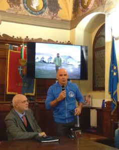 Andrea Devicenzi, il Cammino di San Francesco per disabili