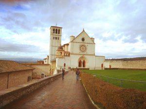 La Basilica di San Francesco, tappa importante del Cammino di San Francesco