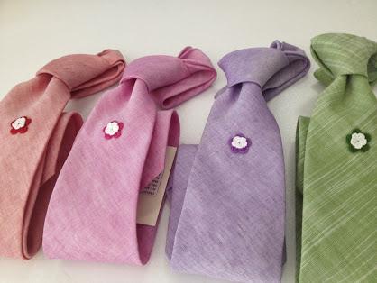 Cravatte esposte a Dettagli d'autore