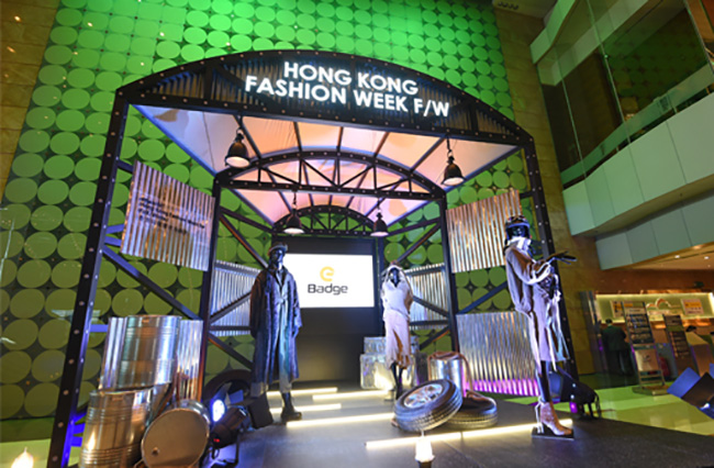 La location della Cina fashion week 2019