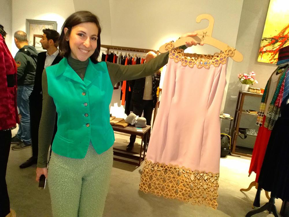 Annalisa Queen alla sfilata di alta moda a Roma