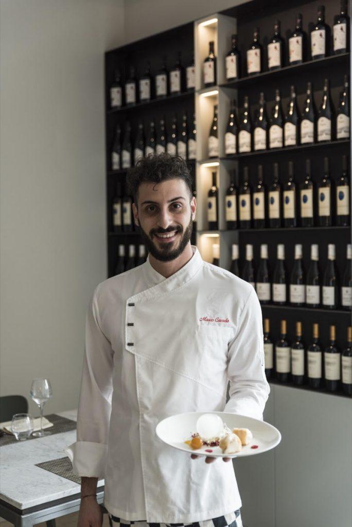 Lo chef del Ristorante La Quercia a Hotel Green Park Madama