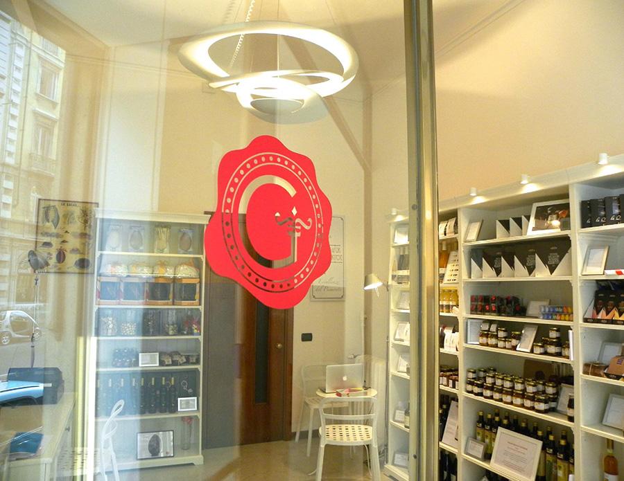 The shop of Gustorotondo Italian food e-commerce