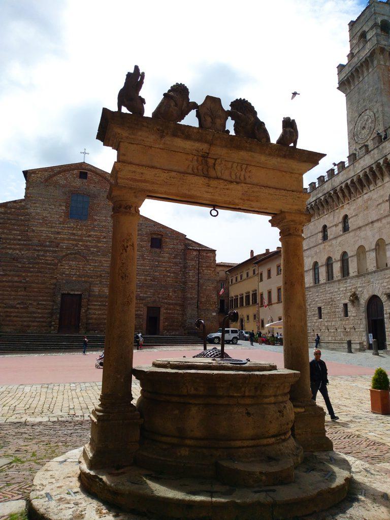 la città del Vino Nobile di Montepulciano