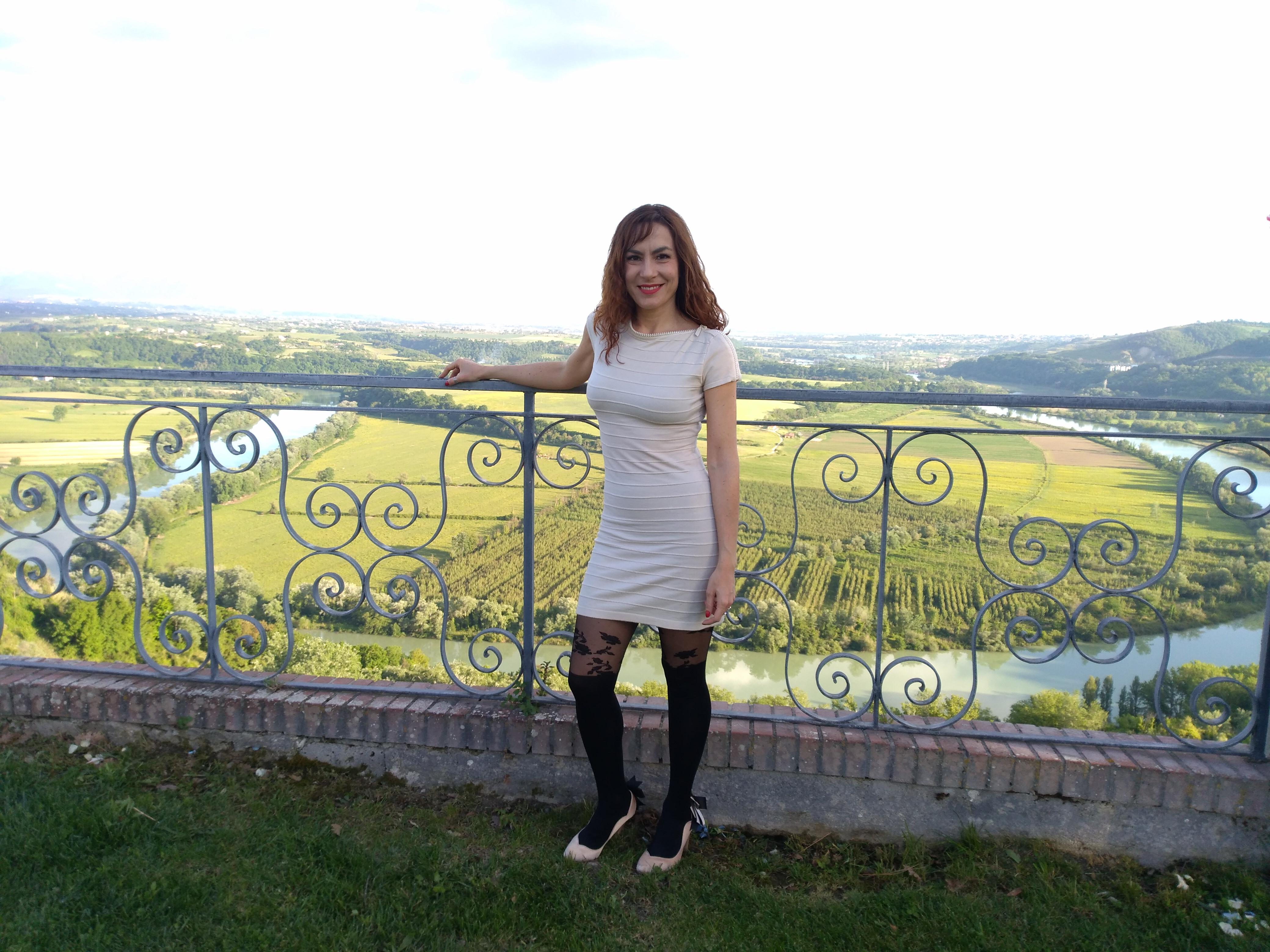 Il panorama da Villa Baldacchini con Candy Valentino