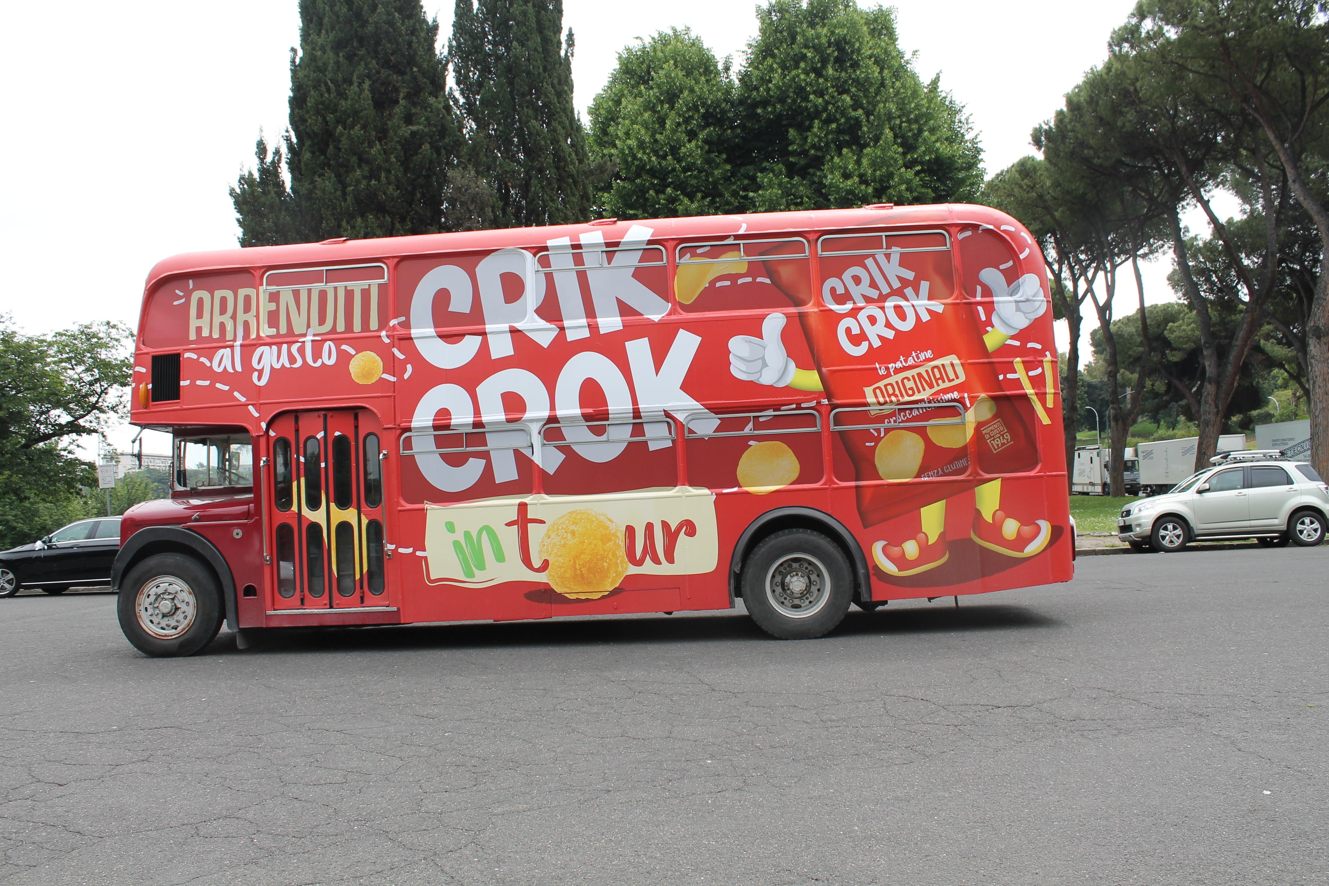 Il London Bus della Crik Crok