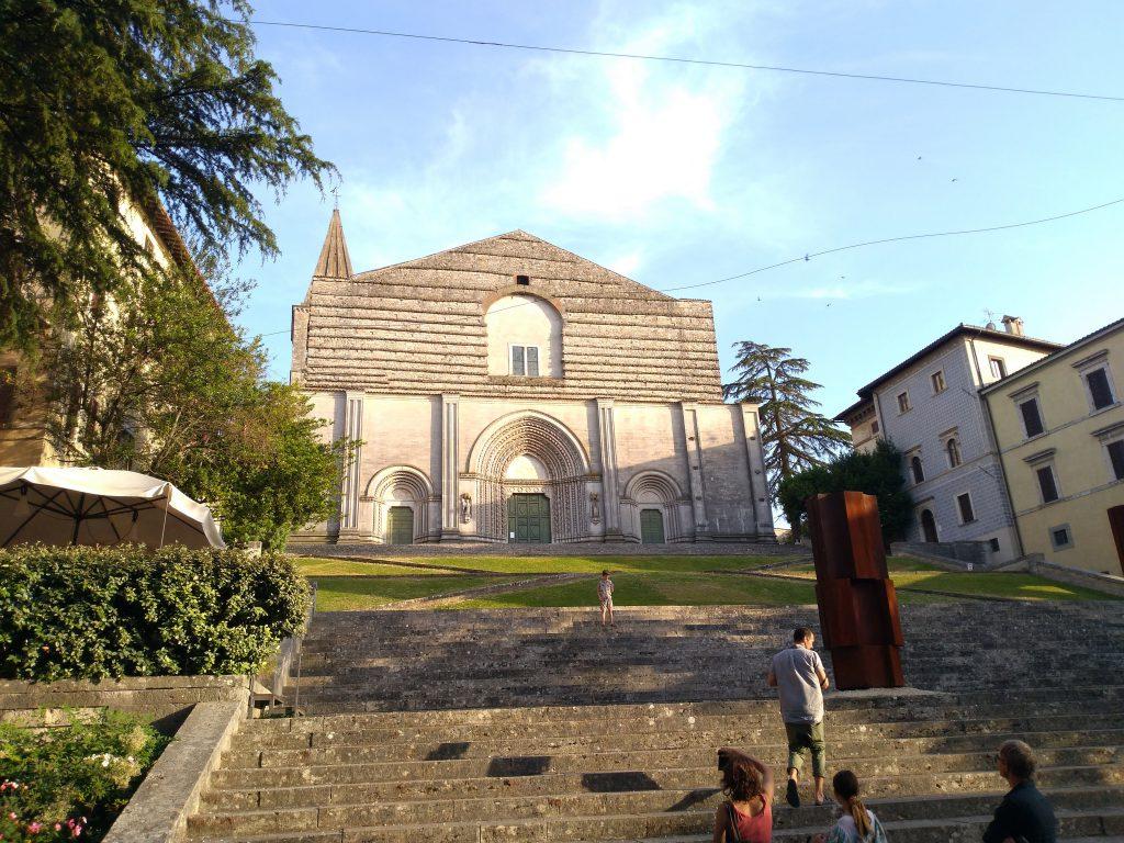 La chiesa di San Fortunato a Todi