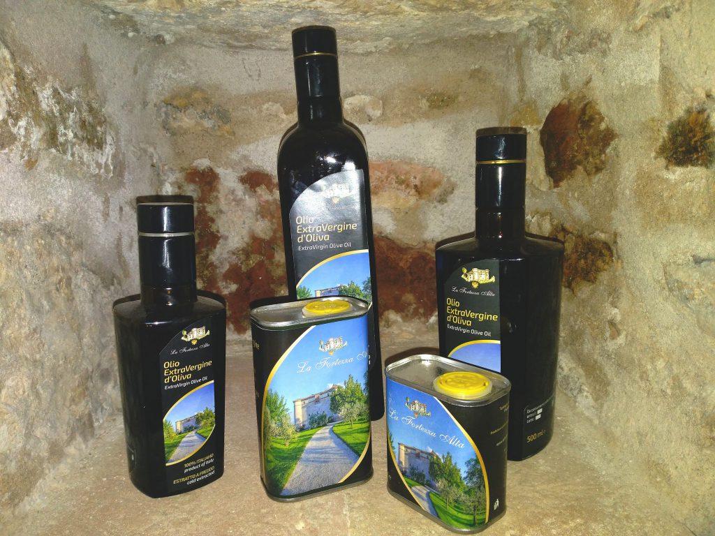 L'olio de La Fortezza Alta