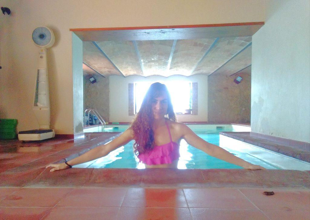 La piscina de La Fortezza Alta