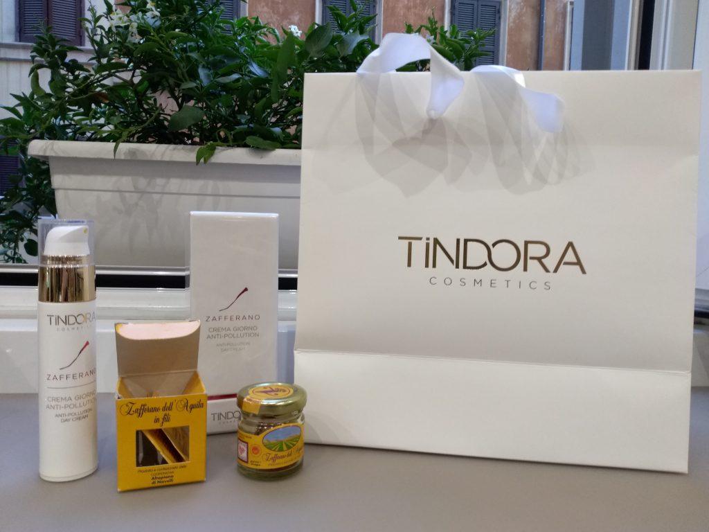 I prodotti Tindora Cosmetics