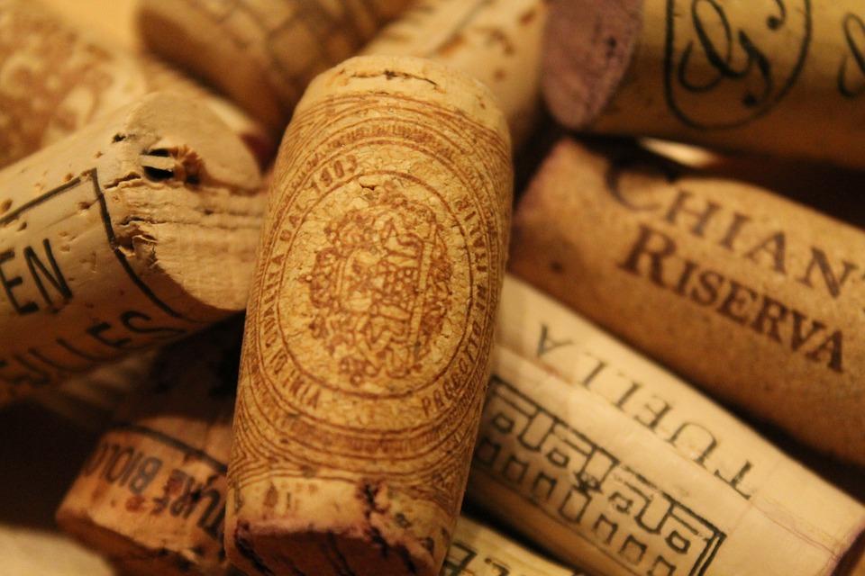 Tappi del vino italiano nel mondo