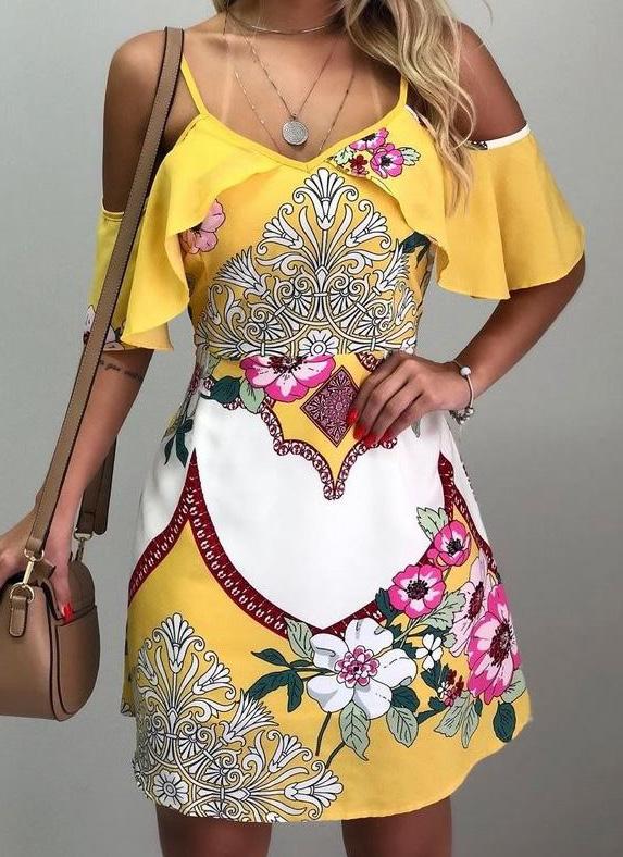 Un abito della moda estate 2019