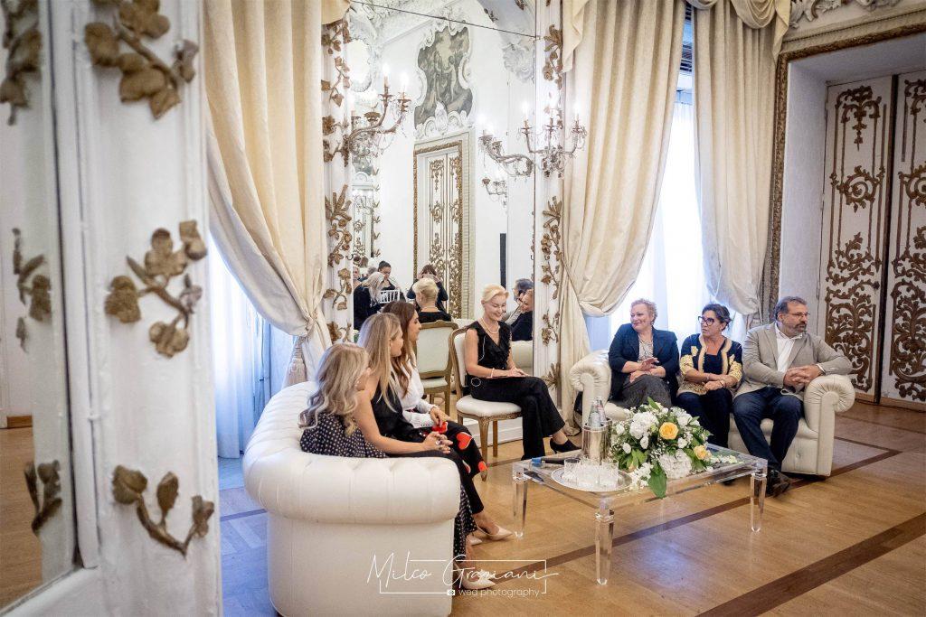 I relatori della conferenza sul destination wedding planner