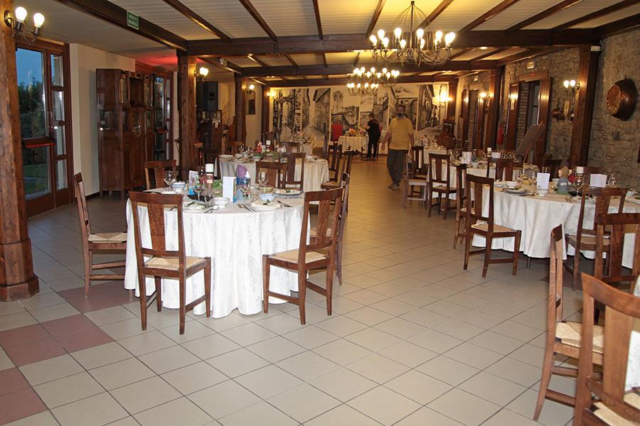 Il salone ricevimenti di Dogana Vecchia Ristorante & Country House