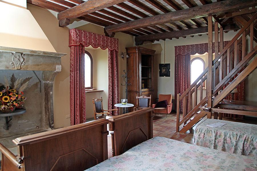 La suite di Dogana Vecchia Ristorante & Country House