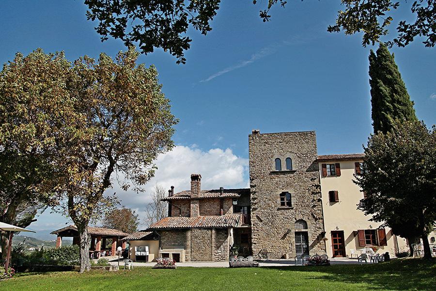 L'esterno di Dogana Vecchia Ristorante & Country House