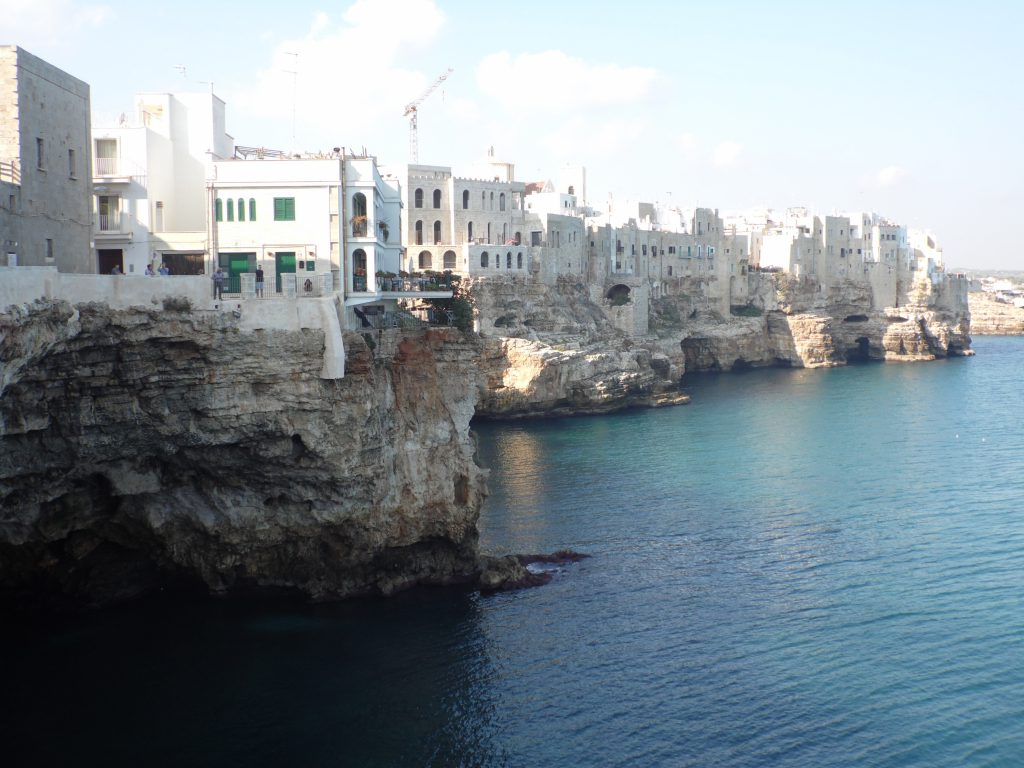 Visit Polignano a Mare during your holidays in Puglia