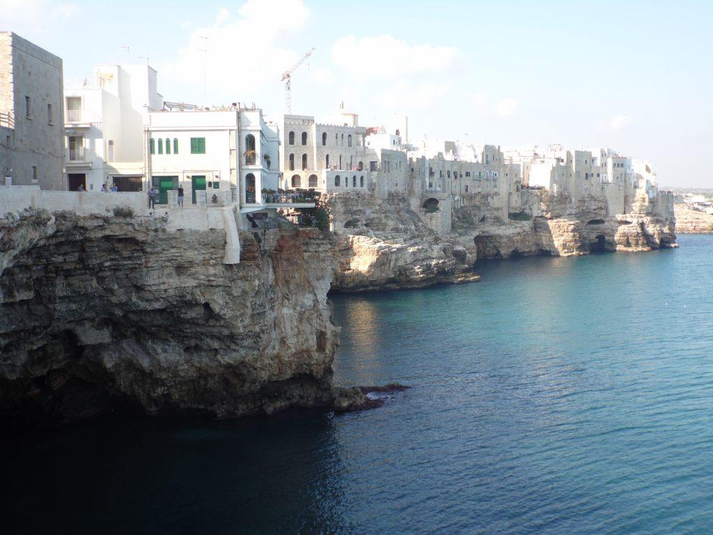 Polignano a Mare, località di vacanze in Puglia