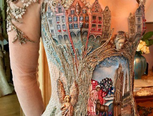 Un abito creato da Sylvie Facon