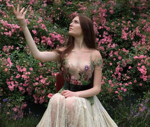 Un vestito di Sylvie Facon
