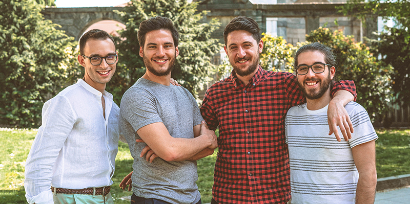 Team di Virality, strumento per influencer italiane