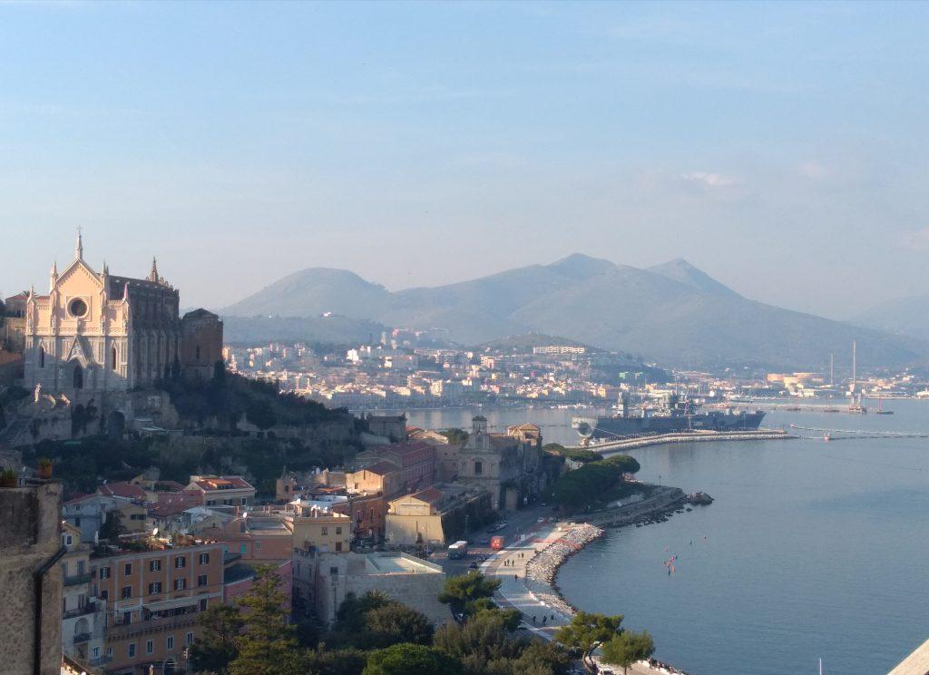 vista panoramica della città di Gaeta