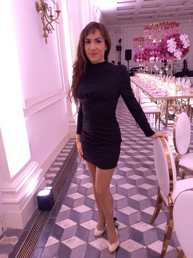 Candy Valentino al party di Erika Morgera a Villa Aurelia