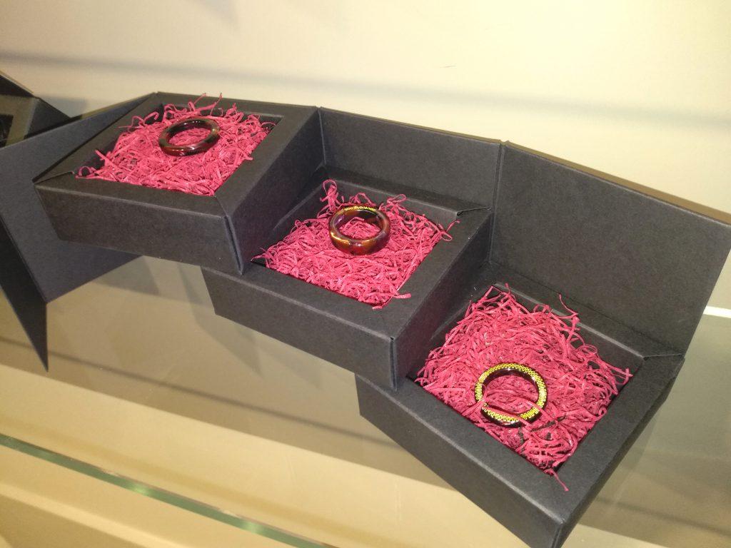 Tre anelli della collezione TRIuSo