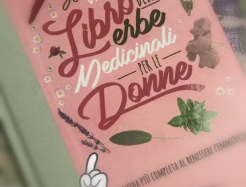 La copertina del libro sulle erbe medicinali