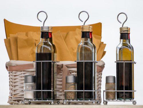 tre tipi di aceto balsamico tradizionale