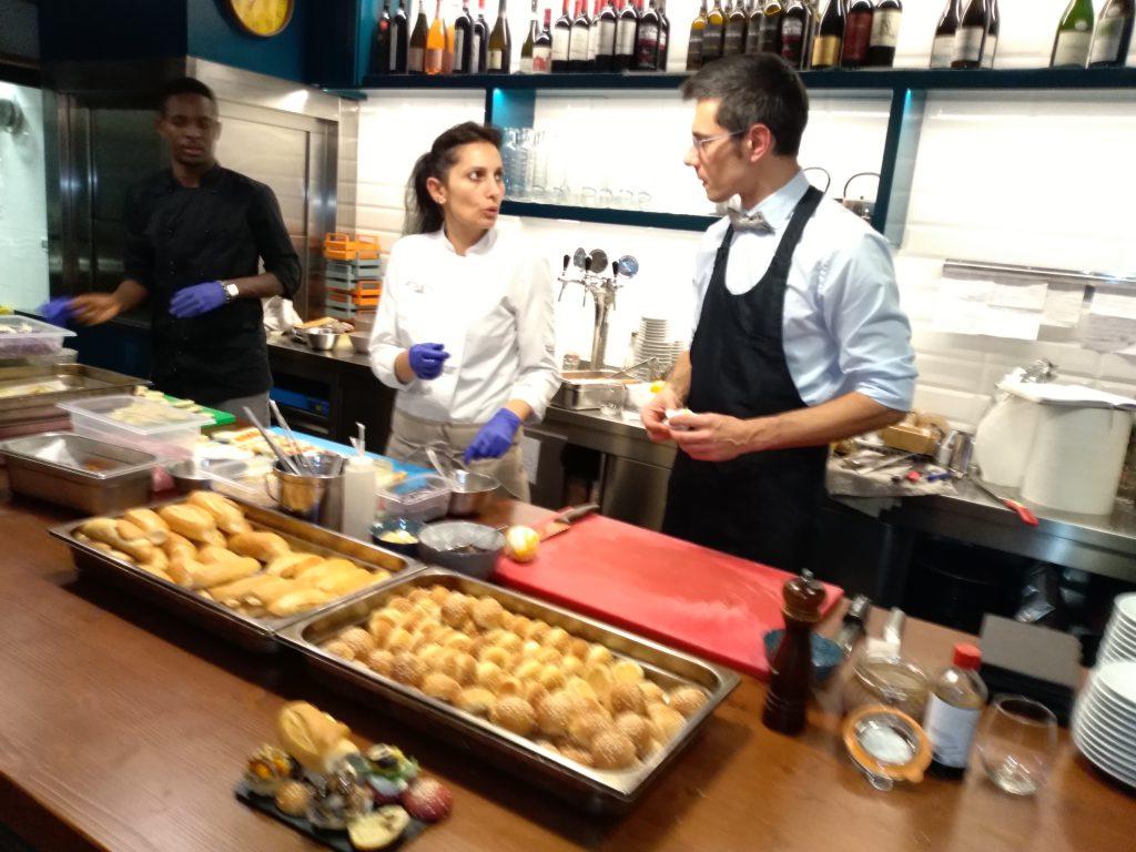 """show cooking di Daniele Reponi """"La grammatica del panino"""""""