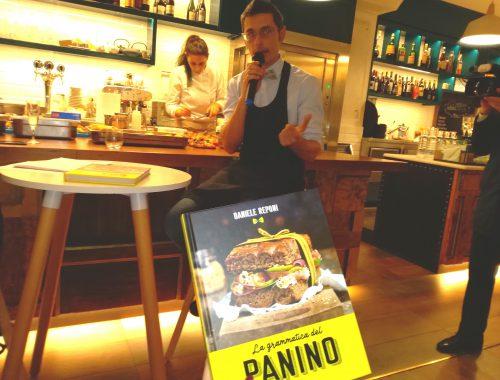 """Presentazione del libro di Daniele Reponi """"La grammatica del panino"""""""