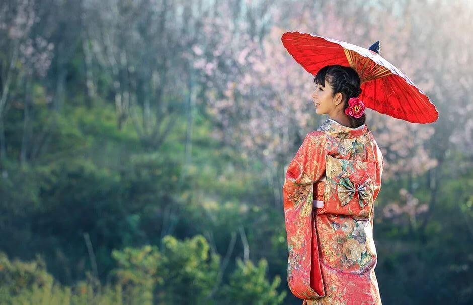 Uno dei modelli di abiti tradizionali in Cina