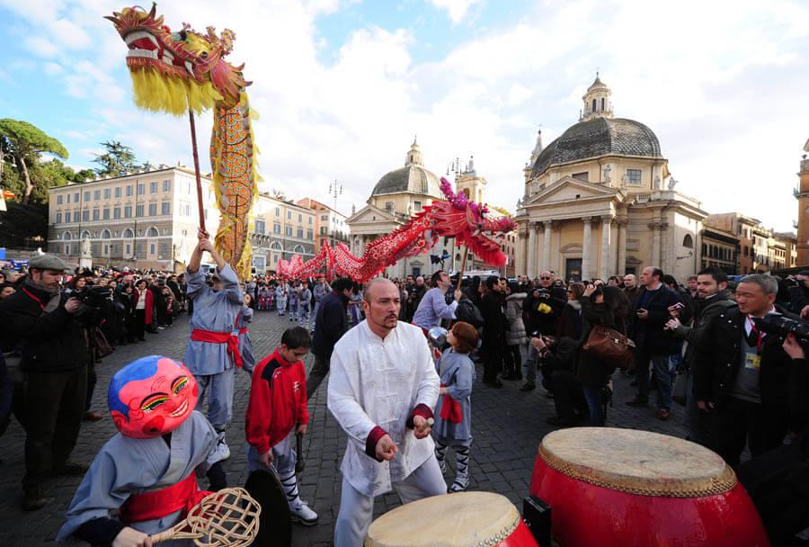 seconda edizione Rome Chinese New Year