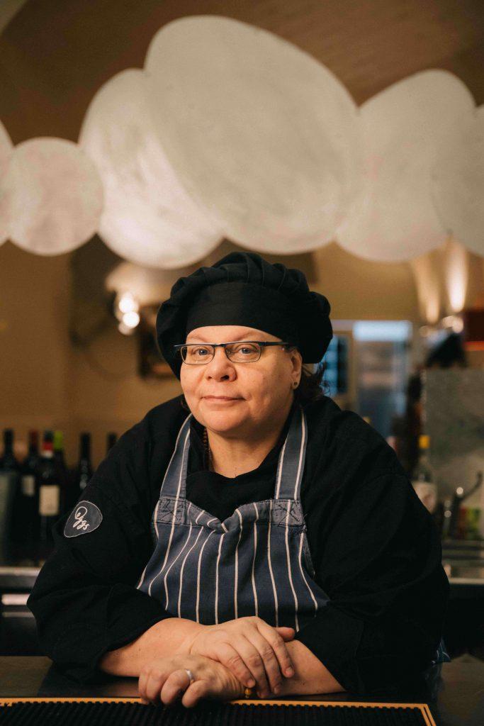 La Chef Agosti spiega la ricetta della Carbonara