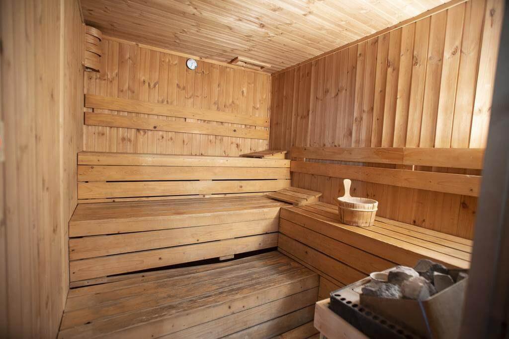 fare la sauna durante le vacanze in Campania