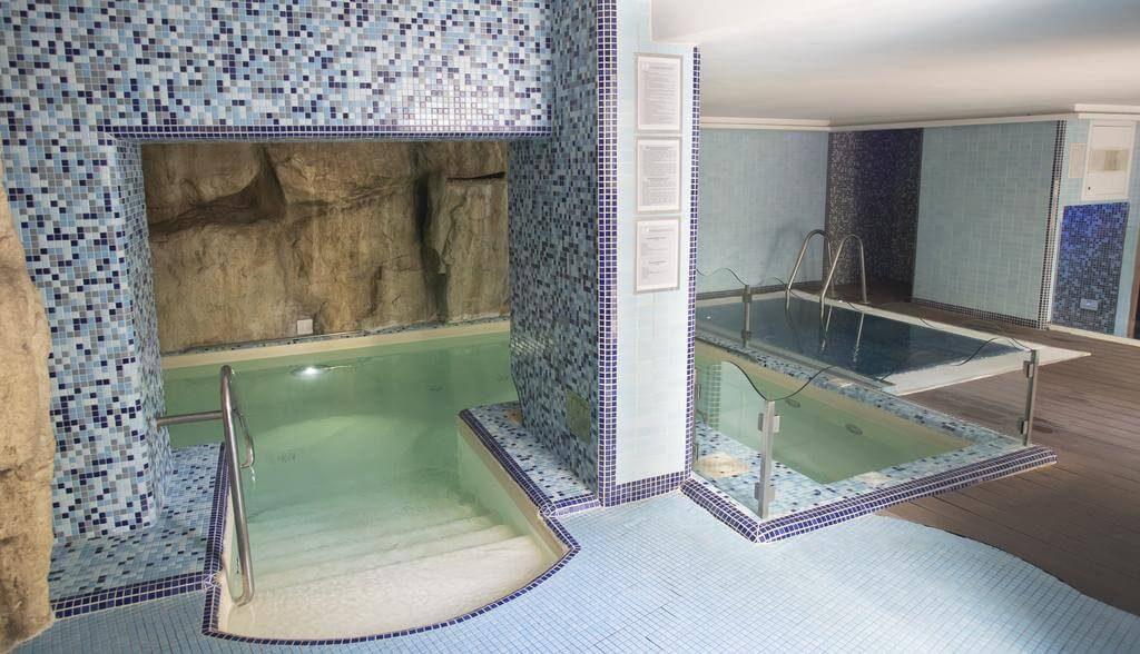 La Spa dell'hotel Villa Luisa per il relax durante le vacanze in Campania