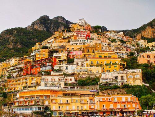 Positano da vedere durante le vacanze in Campania