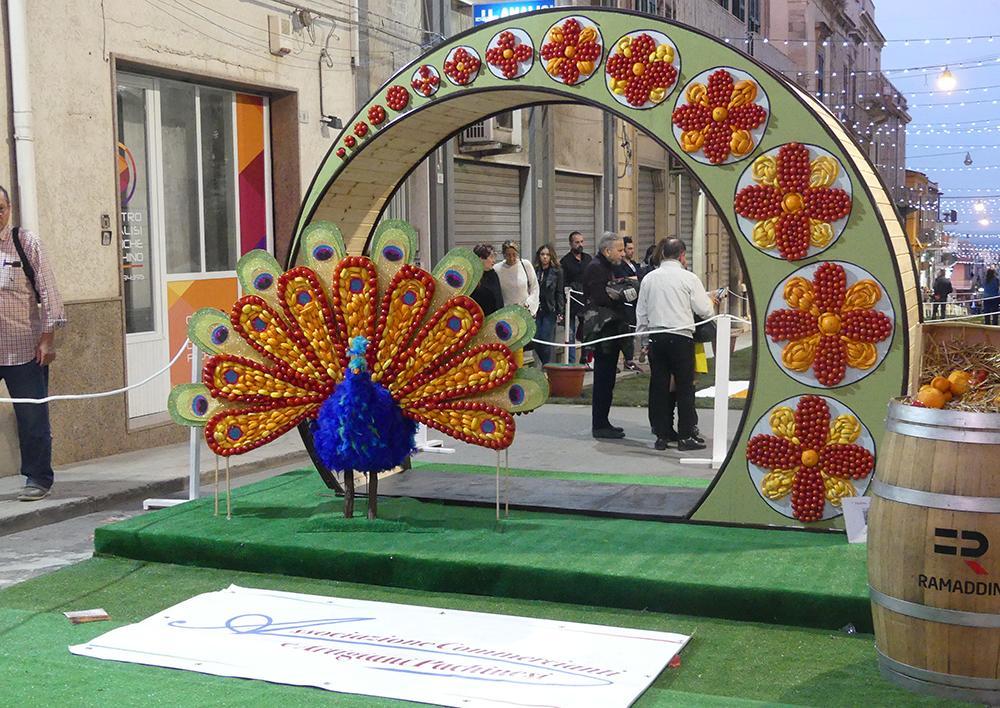 un mosaico vegetale dell'inverdurata di Pachino