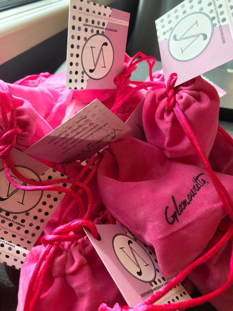 Il packaging del salvatacco Glamouretto