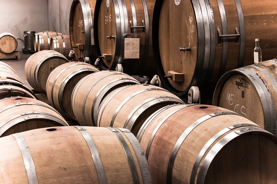 le botti usate per rispettare il disciplinare del vini