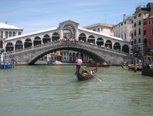 Venice, the most famous town in Veneto