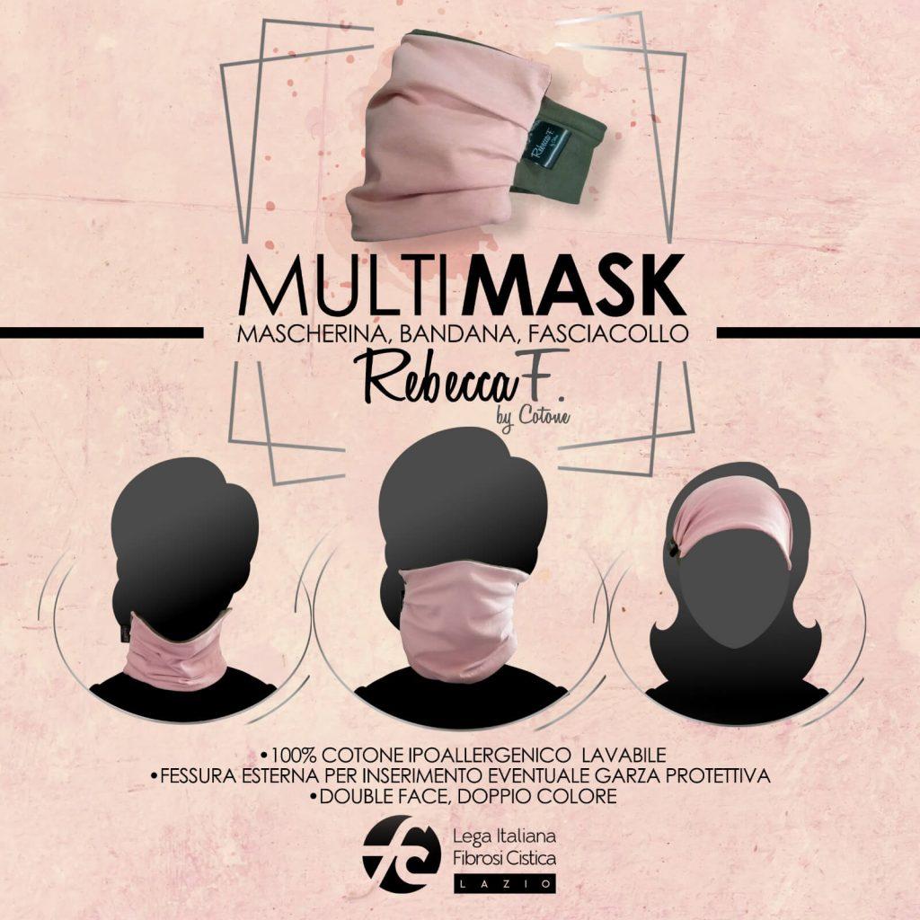 i vari modi di indossare le mascherine Multimask