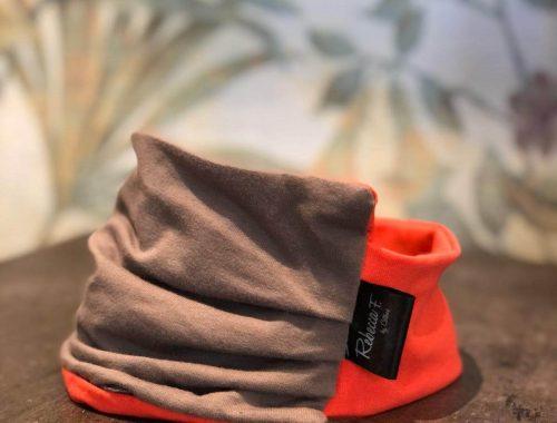 una delle mascherine alla moda di Greta Mariani
