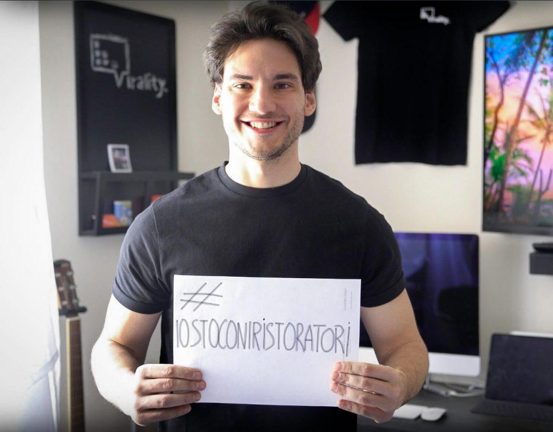 la campagna #iostoconiristoratori